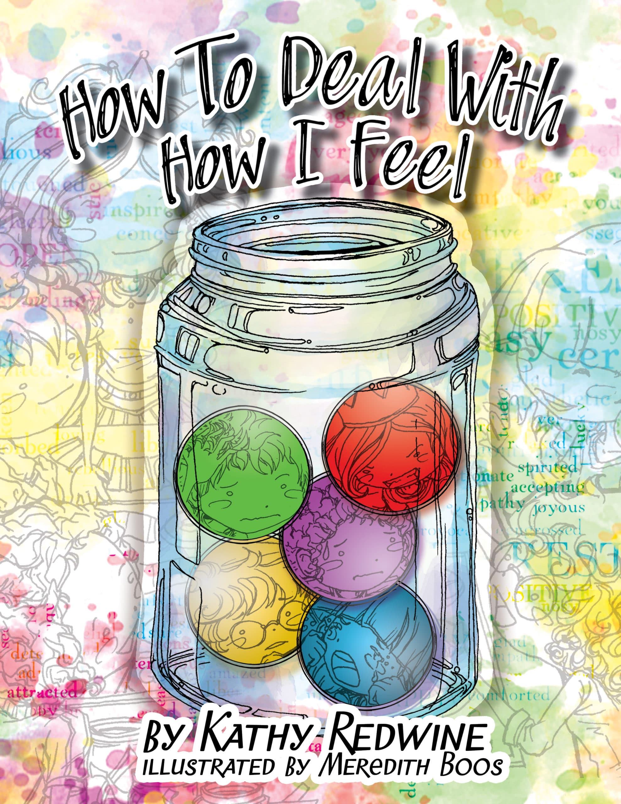 How to Deal With How I Feel coloring book cover