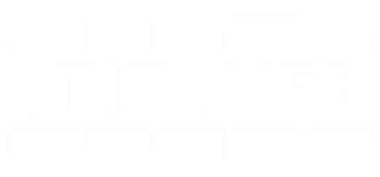 Stitcher logo white